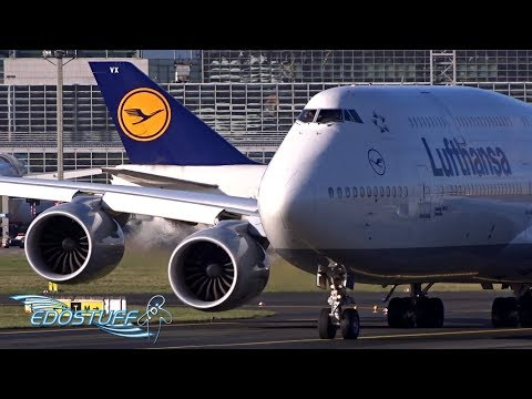 THE BEAUTY OF AUTUMN PLANE SPOTTING - Frankfurt FRA/EDDF Airport