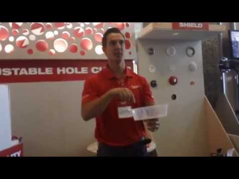 Milwaukee Tools Adjustable Hole Cutter Attachment
