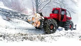 TAF 690 OP-pe timp de iarna