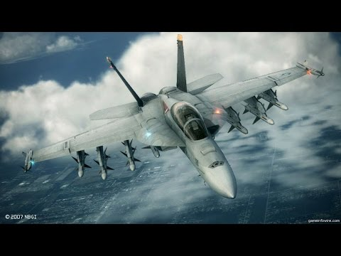 F/A-18 Formation Flight | Escort | Millitary Flight