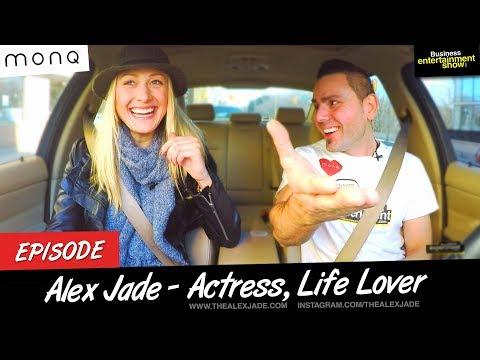 Entrepreneur Interview - Hero & Actress Alex Jade on Business Entertainment Show ( Uber Experiment)
