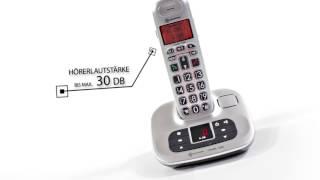 Produktvideo zu Großtasten-Telefon amplicomms Big Tel 1280