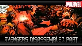 บทส ดท ายอเวนเจอร 1 avengers disassembled part 1 comic world daily