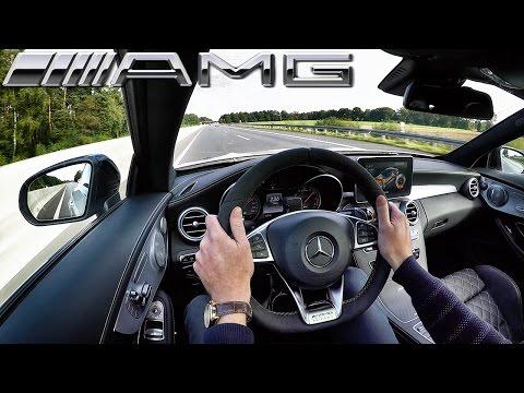 Mercedes Benz C63 AMG Coupe Edition1 AUTOBAHN Test Drive