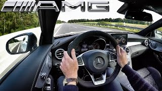 Mercedes Benz C63 AMG Coupe Edition1 AUTOBAHN Test Drive