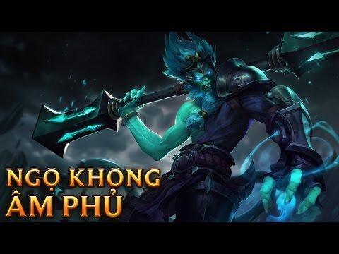 Ngộ Không Âm Phủ - Underworld Wukong - Skins lol
