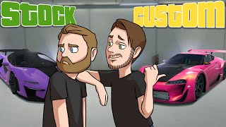 Stock Vs Custom SUPER CARS! | GTA5
