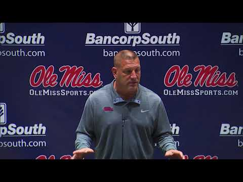 Ole Miss Football - Phil Longo Press Conference (10-16-17)