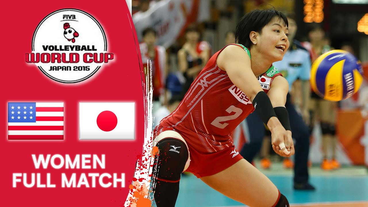 Usa Vs Japan Full Match Women S Volleyball World Cup 2015 Youtube