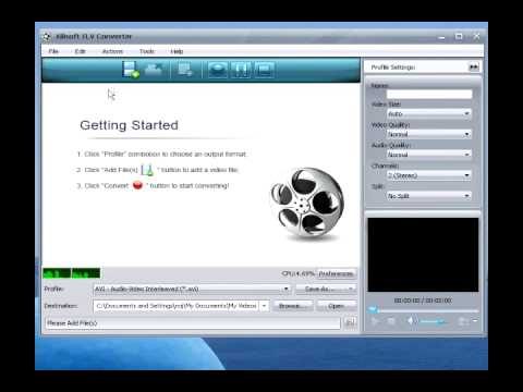How to convert Flash videos to MP4 videos