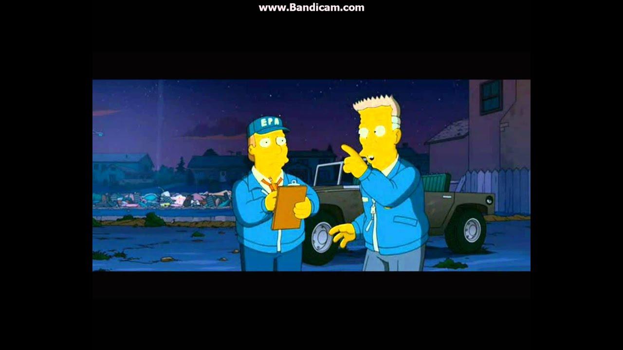 The Simpsons Movie Fieldglass Scene Epa Cze Youtube