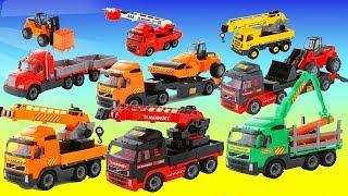 Машинки Полесье - служебный и строительный транспорт