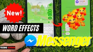 How to Use Word Effects on Facebook Messenger   Word Effects Messenger screenshot 4