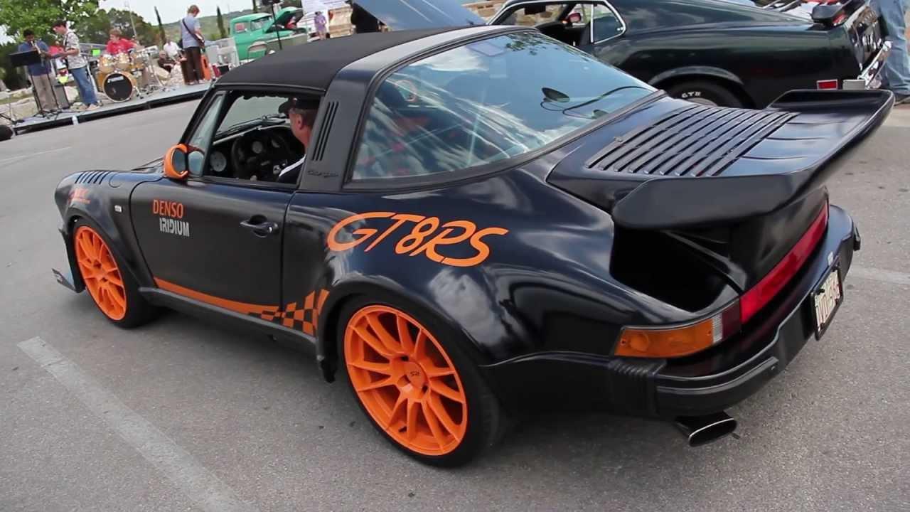 V8 Porsche Track Car | Chevy V8 idle! - YouTube