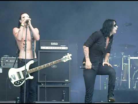 Deathstars-death dies hard- live sweden rock festival 2009