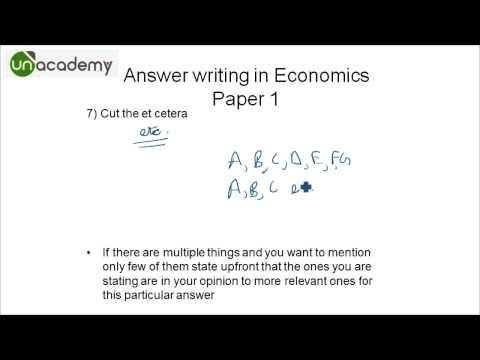 IAS preparation to Crack the UPSC Examinations : Part 30 - Economics