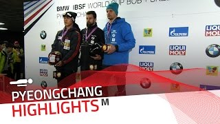 Martins Dukurs secured the Eighth Wonder in Pyeongchang   IBSF Official