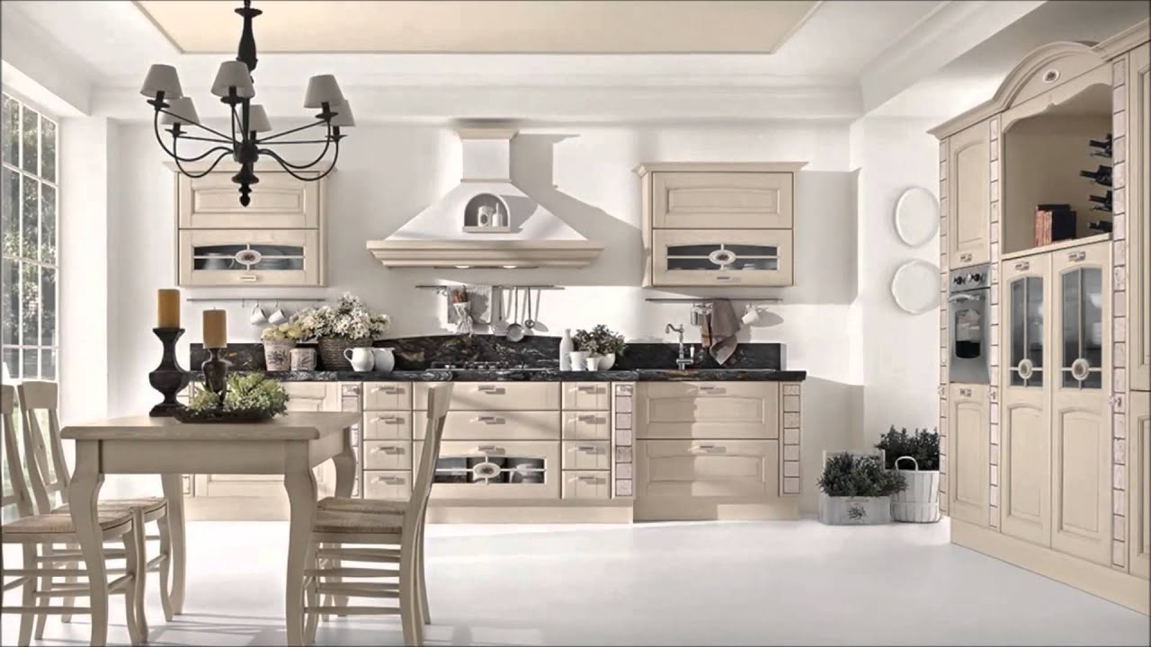 Cucina Classica Mod VERONICA | Cucine LUBE Torino - YouTube