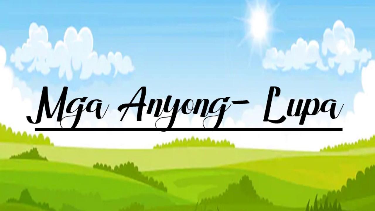 Mga Anyong Lupa   Lesson 3   Grade 3   - YouTube [ 720 x 1280 Pixel ]