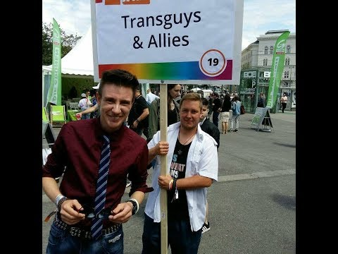 """Trans*Guys & Allies"" at Vienna Pride 2017"
