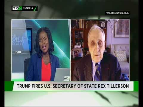 Ambassador Hank Cohen speaks on sacking of US Secretary of state
