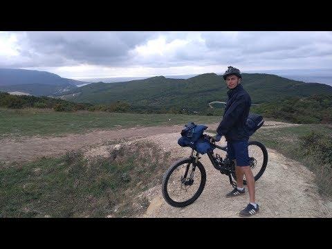 Горный маршрут / Анапа - Утриш - Абрау / С женой на велосипедах