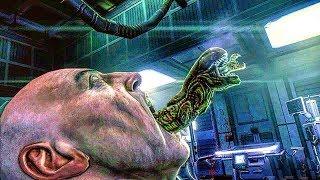 Alien Chestburster Scene - Aliens Vs Predator Game