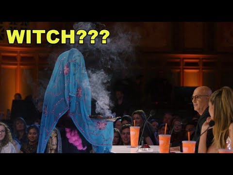 "[NEW]America's Got Talent 2018 😱WITCH ON STAGE ""so Scary""