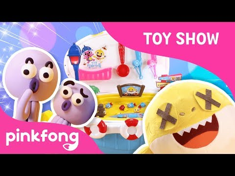 Pinkfong Baby Shark Fishing Play | Toy Review | Toy Show | Pinkfong Songs for Children