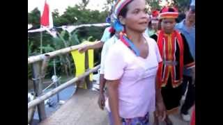Indingeous Dayak Bidayuh Copper Ring Ladies Kalimantan Barat Indonesia Borneo 探索婆罗洲游踪原住民比达友传统铜环族文化