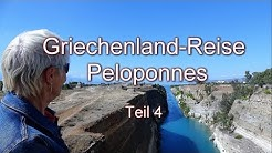 Griechenland-Reise  Peloponnes Teil 4
