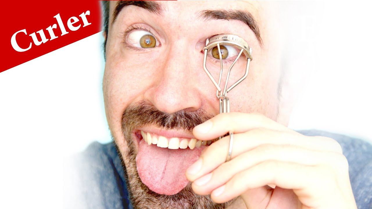 How To Use An Eyelash Curler For Straight Lashes Tutorial Curl