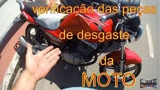 Como verificar o fim de vida útil das peças de sua moto!