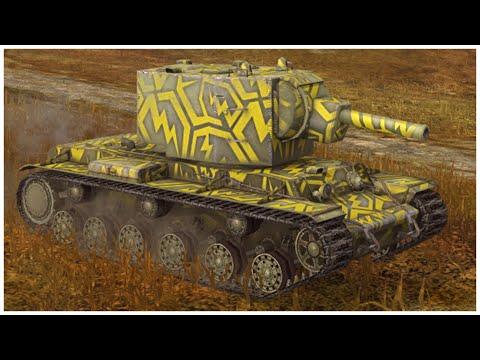 KV-2 • 5.1K DAMAGE • 5 KILLS • WoT Blitz