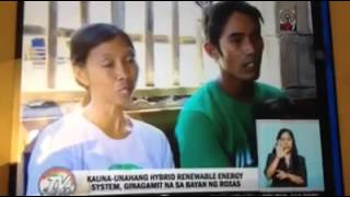 Palawan Hybrid Renewable Energy in Green Island, Roxas