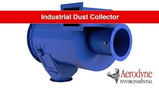 Industrial Dust Collector Animation