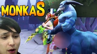 monkaS Enchantress ◄ SingSing Dota 2 Highlights