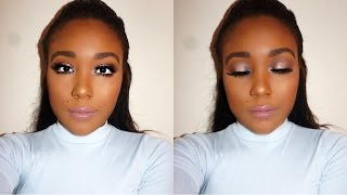 FALL MAKEUP TUTORIAL I Full Face Using New Drugstore Makeup