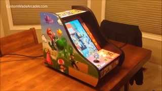 Super Mario Brothers Bartop Custom Made Arcade Machine Mini Tabletop By Custom Made Arcades
