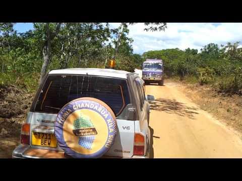 Tanzania Roadworks May 2012