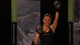 Got 10 minutes? Sculpt your upper body with Samantha Clayton