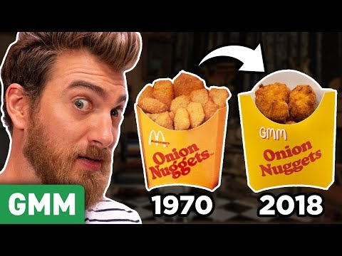 Recreating Discontinued McDonalds Menu Items (TASTE TEST)