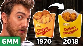 Recreating Discontinued McDonald\'s Menu Items (TASTE TEST)
