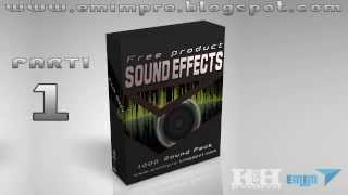 Best free sound effects download pack EMIMPRO : parti 1
