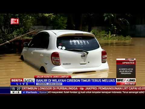 Banjir di Cirebon Timur Meluas, Ribuan Rumah Terendam