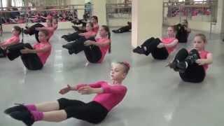 Открытый урок по классу ДЖАЗ-МОДЕРН (Школа танца Елены Морозовой, г. Подольск МО, 2014) - часть 1