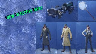 Fortnite Detective Skins Release?