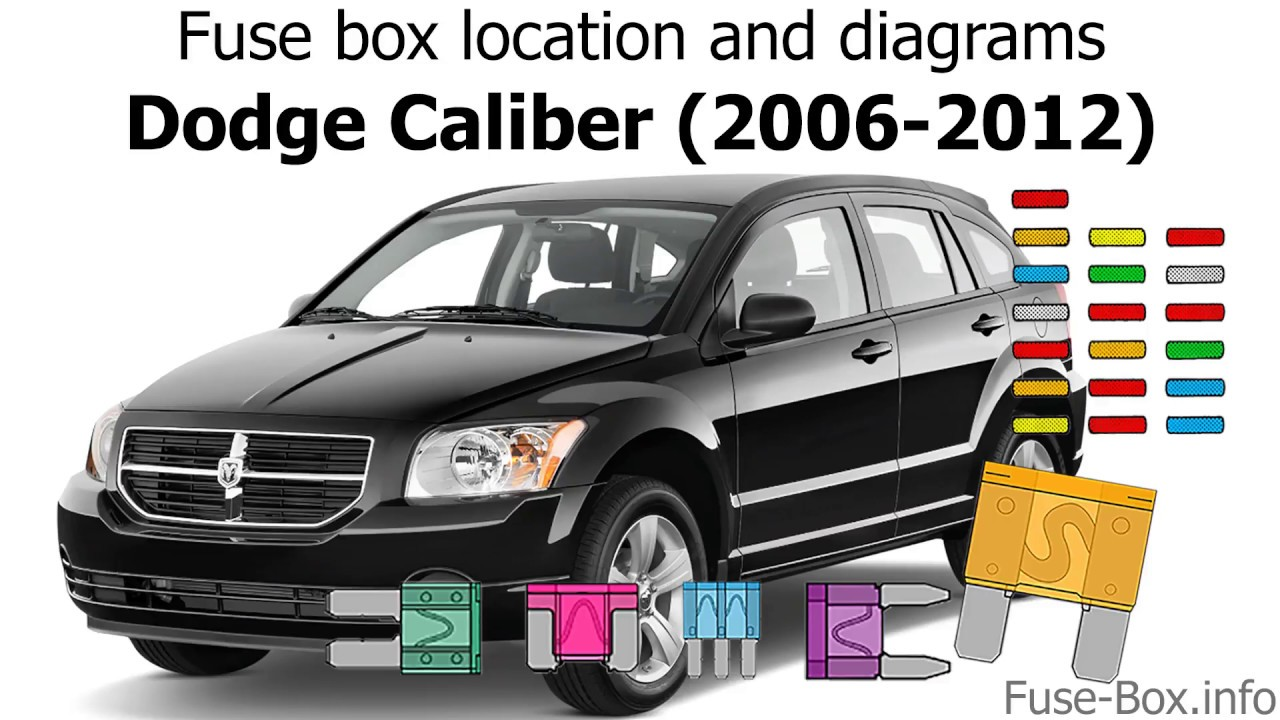 Fuse Box Location And Diagrams  Dodge Caliber  2006