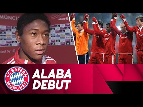 David Alaba's FC Bayern Debut   #FlashbackFriday