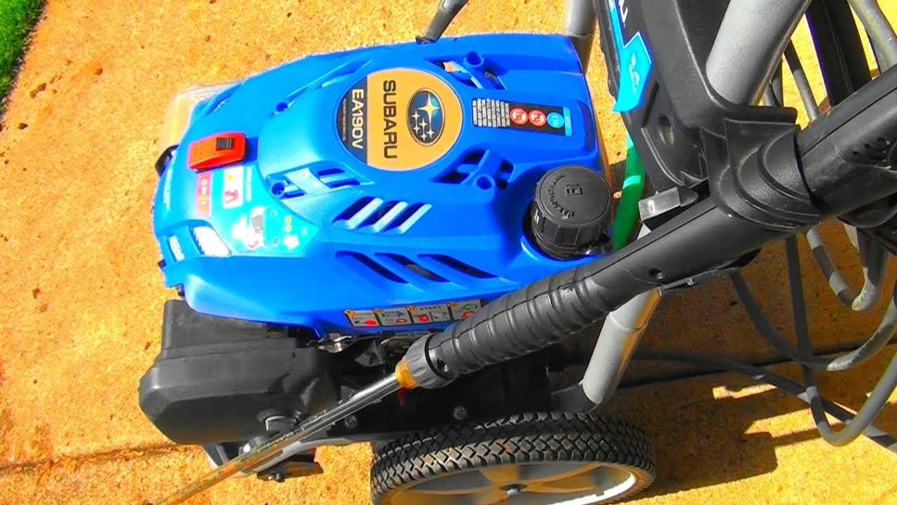 Subaru Pressure Washer Fix Won T Start